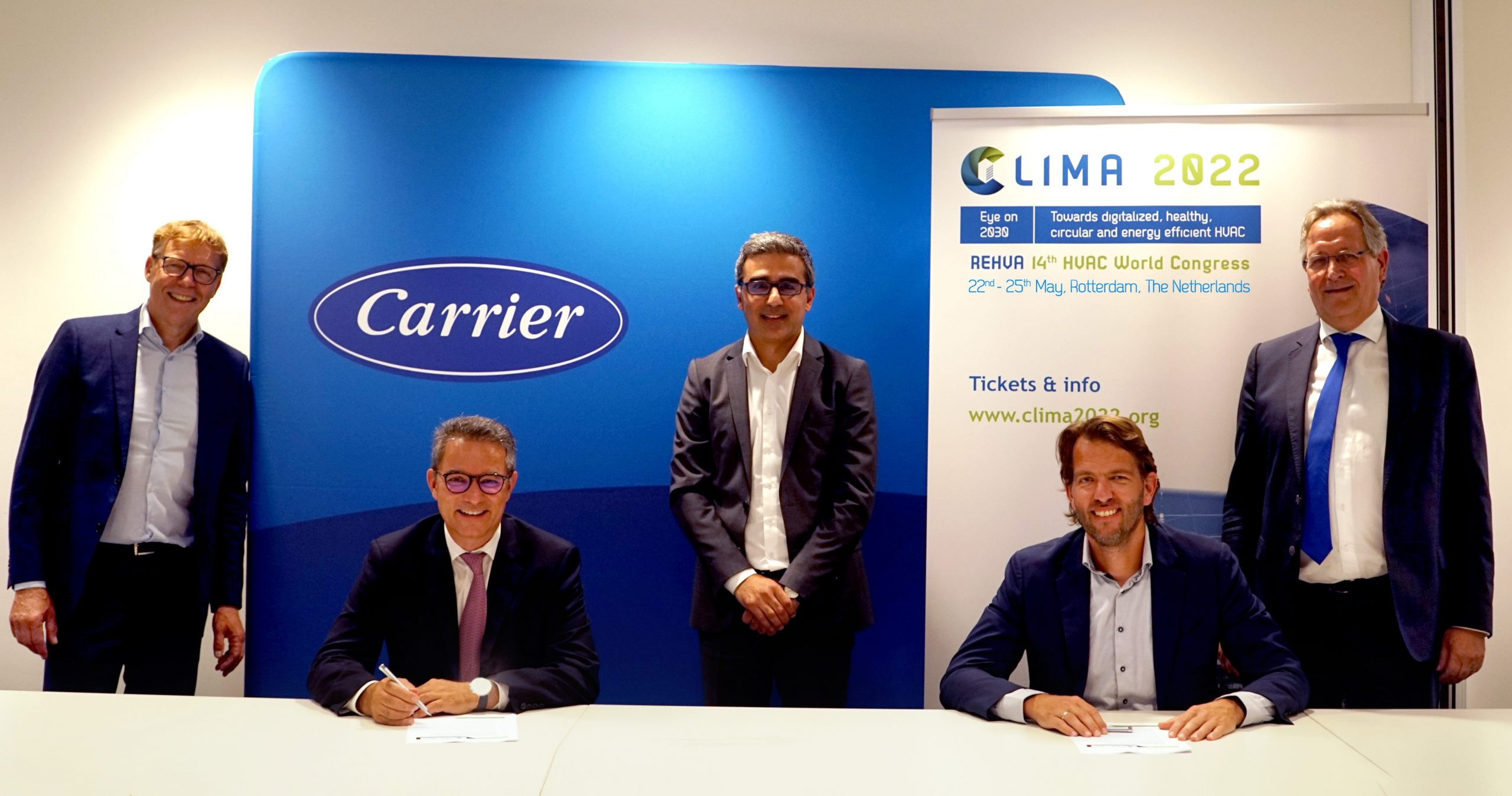 Carrier Airconditioning main sponsor CLIMA 2022